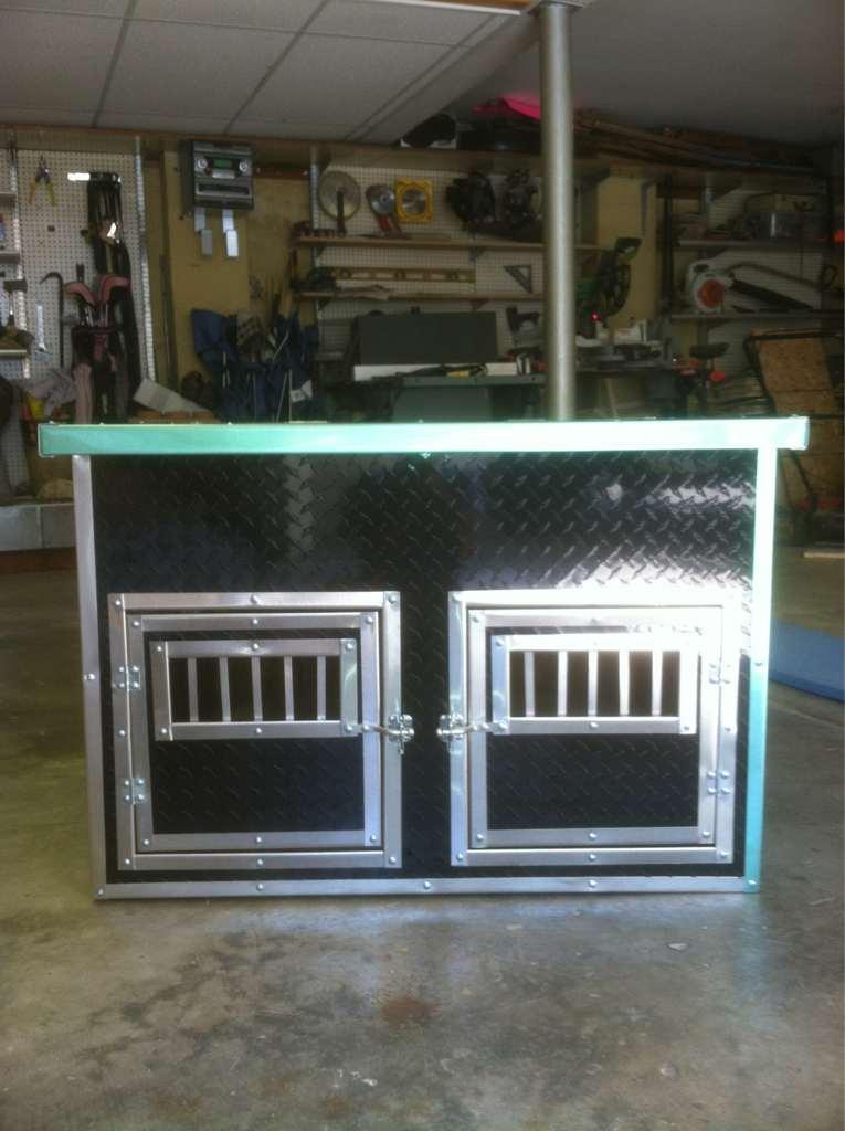 for sale pick up dog box. Black Bedroom Furniture Sets. Home Design Ideas